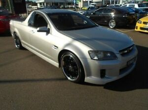2009 Holden Ute VE MY10 SV6 Silver 6 Speed Manual Utility Cardiff Lake Macquarie Area Preview
