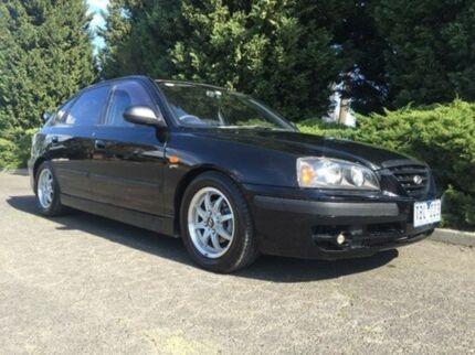 2004 Hyundai Elantra XD MY04 Elite Black 4 Speed Automatic Hatchback Vermont Whitehorse Area Preview