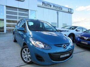 2013 Mazda 2 DE10Y2 MY14 Neo Sport Blue 4 Speed Automatic Hatchback Belconnen Belconnen Area Preview
