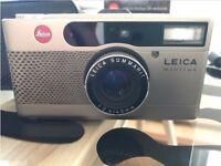 Leica Minilux - Rare Snakeskin edn.