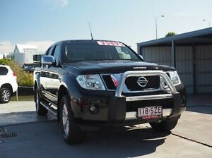 2013 Nissan Navara D40 S5 MY12 ST-X 550 Black 7 Speed Sports Automatic Utility Albion Brisbane North East Preview