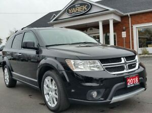 2018 Dodge Journey GT AWD, DVD, NAV, 7 Pass., Heated Seats, Remo