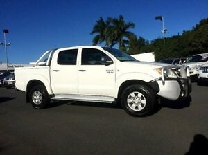 2008 Toyota Hilux GGN25R MY09 SR5 White 5 Speed Automatic Utility West Mackay Mackay City Preview