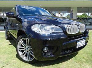 2010 BMW X5 E70 MY11 xDrive40d Steptronic Sport Black 8 Speed Sports Automatic Wagon Victoria Park Victoria Park Area Preview