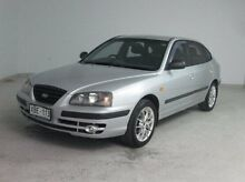 2003 Hyundai Elantra XD MY04 Silver 5 Speed Manual Hatchback Mount Gambier Grant Area Preview