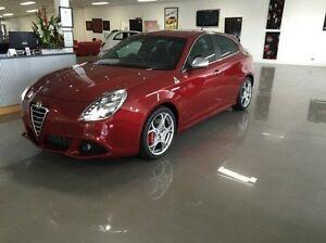 2013 Alfa Romeo Giulietta QV Red 6 Speed Manual Hatchback Wodonga Wodonga Area Preview