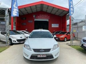 2007 Ford Mondeo MA Zetec White 6 Speed Automatic Hatchback Clontarf Redcliffe Area Preview