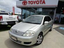 2005 Toyota Corolla ZZE122R 5Y Ascent Silver 4 Speed Automatic Sedan Robina Gold Coast South Preview