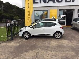 2016 Renault Clio X98 Series IV Expression White 5 Speed Manual Hatchback Croydon Maroondah Area Preview
