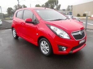 2013 Holden Barina Spark MJ MY14 CD Red 5 Speed Manual Hatchback Dubbo Dubbo Area Preview