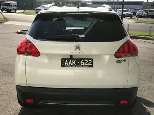 2013 Peugeot 2008 A94 Outdoor White 5 Speed Manual Wagon Morwell Latrobe Valley Preview