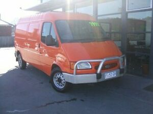 2000 Ford Transit VG LWB Orange 5 Speed Manual Van Launceston Launceston Area Preview