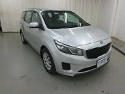 2016 Kia Carnival YP MY16 S Silver 6 Speed Sports Automatic Wagon Glebe Hobart City Preview
