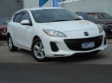 2013 Mazda 3 BL10F2 MY13 Neo White 6 Speed Manual Hatchback Soldiers Hill Ballarat City Preview