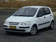 2002 Hyundai Getz TB GL White 4 Speed Automatic Hatchback Run-o-waters Goulburn City Preview