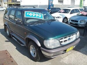 1997 Ford Explorer Green Automatic Wagon Broadmeadow Newcastle Area Preview