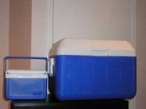 TWO COLEMAN COOLERS $50