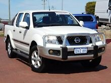 2012 Nissan Navara D40 S6 MY12 ST White 6 Speed Manual Utility Spearwood Cockburn Area Preview