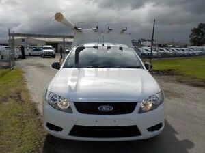 2010 Ford Falcon White Sports Automatic Cab Chassis Pakenham Cardinia Area Preview