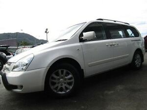 2008 Kia Grand Carnival VQ EX-L White 5 Speed Sports Automatic Wagon Earlville Cairns City Preview