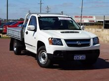 2011 Holden Colorado RC MY11 LX White 5 Speed Manual Cab Chassis Spearwood Cockburn Area Preview