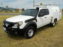 2010 Ford Ranger  White Manual Cab Chassis Pakenham Cardinia Area Preview