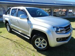 2014 Volkswagen Amarok 2H MY14 TDI420 4Motion Perm Highline Silver 8 Speed Automatic Utility Victoria Park Victoria Park Area Preview