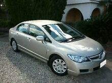 2008 Honda Civic 8th Gen MY08 VTi Gold 5 Speed Automatic Sedan Deagon Brisbane North East Preview