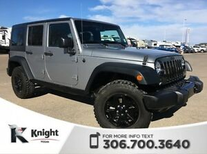 2015 Jeep Unlimited Wrangler Willy's Edition