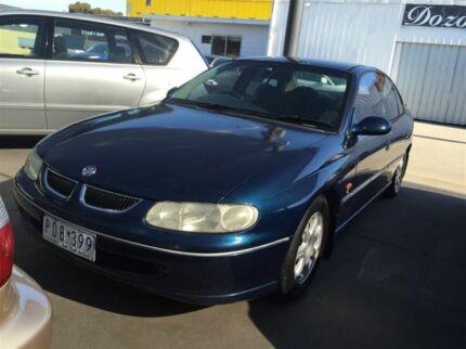 1998 Holden Commodore VT Executive Blue 4 Speed Automatic Sedan Maidstone Maribyrnong Area Preview