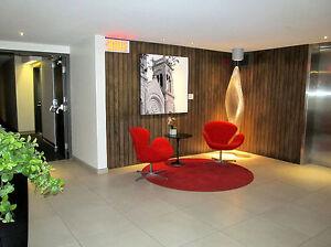 Québec, haute ville: Condo de qualité - tout meublé/bien équipé
