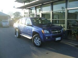 2010 Holden Colorado RC MY10 LT-R Crew Cab Blue 4 Speed Automatic Utility Invermay Launceston Area Preview