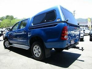 2012 Toyota Hilux Blue Automatic Utility Earlville Cairns City Preview