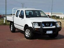 2009 Nissan Navara D40 RX White 6 Speed Manual Utility Spearwood Cockburn Area Preview