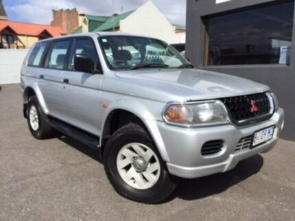 2003 Mitsubishi Challenger PA MY03 Silver 5 Speed Manual Wagon Launceston 7250 Launceston Area Preview