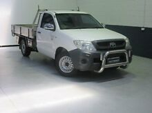 2009 Toyota Hilux TGN16R MY10 Workmate White 5 Speed Manual Cab Chassis Windsor Gardens Port Adelaide Area Preview