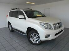 2012 Toyota Landcruiser Prado KDJ150R Kakadu White 5 Speed Sports Automatic Wagon Bunbury 6230 Bunbury Area Preview