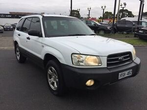 2002 Subaru Forester 79V MY03 X AWD White 5 Speed Manual Wagon Heidelberg Heights Banyule Area Preview