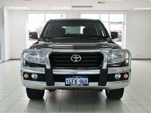 2014 Toyota Landcruiser VDJ200R MY12 Altitude (4x4) Black 6 Speed Automatic Wagon Morley Bayswater Area Preview