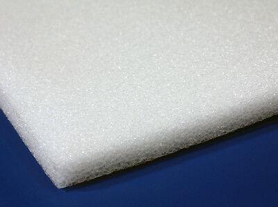 8 Pack 1 X 12 X 12 White Polyethylene Foam 1.7pcf Free Shipping