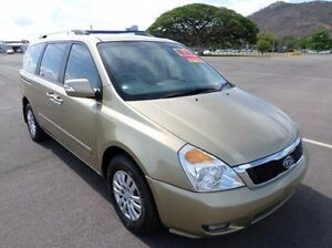 2010 Kia Grand Carnival VQ MY11 SLi Gold 6 Speed Sports Automatic Wagon Hyde Park Townsville City Preview