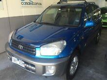 2003 Toyota RAV4 ACA21R Extreme Blue 5 Speed Manual Wagon Canterbury Boroondara Area Preview