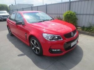 2016 Holden Commodore VF II MY16 SV6 Black Red 6 Speed Sports Automatic Sedan Coolaroo Hume Area Preview