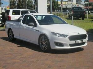 2015 Ford Falcon FG X XR6 Ute Super Cab Turbo White 6 Speed Sports Automatic Utility Baulkham Hills The Hills District Preview