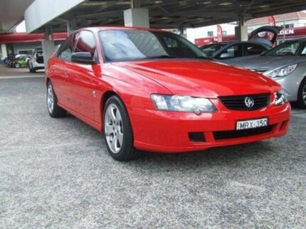 2004 Holden Commodore VY II SV8 Red Hot 4 Speed Automatic Sedan Haberfield Ashfield Area Preview
