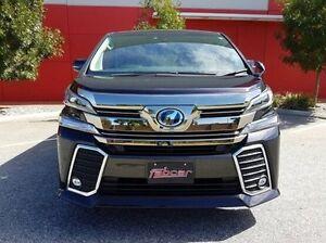2015 Toyota Vellfire Black Constant Variable Wagon