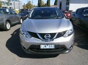 2016 Nissan Qashqai J11 TL Silver 1 Speed Constant Variable Wagon Blackburn Whitehorse Area Preview
