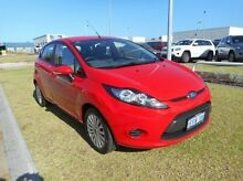 2013 Ford Fiesta WT LX Red 5 Speed Manual Hatchback East Rockingham Rockingham Area Preview