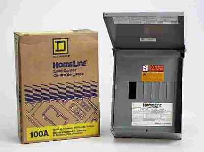 Square D Hom612l100rbcp Outdoor Main Lug Load Center 100 Amp
