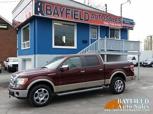 2010 Ford F-150 Lariat Supercrew 4x4 **Leather/Sunroof**